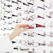 eyeglasses on wall, eyeglasses consultation Springfield MA, eyeglasses consultation Western MA, eye exam Chicopee MA, eye doctor East Longmeadow MA